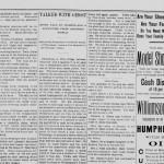 Read more about the ghost of John Baer in the Marshall County Independent, 24 February 1899.