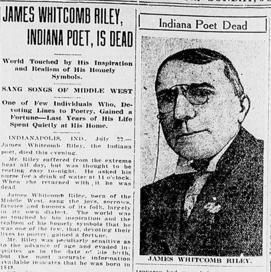 James Whitcomb Riley photo #19037, James Whitcomb Riley image