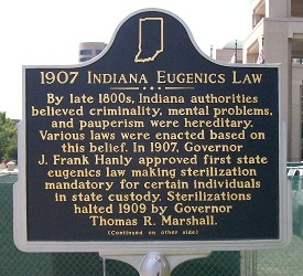 1907 Indiana Eugenics Law 1
