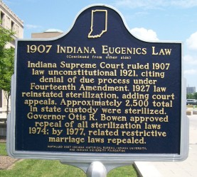 1907 Indiana Eugenics Law 2