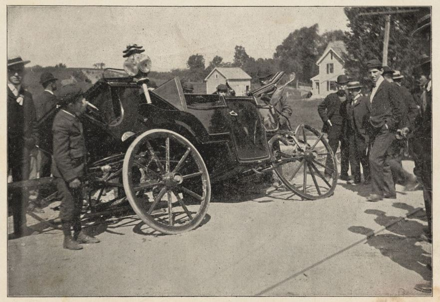 Roosevelt Car, Pittsfield, Mass., 1902