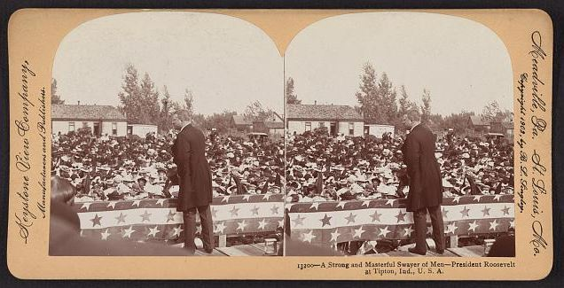 Roosevelt in Tipton, 1902
