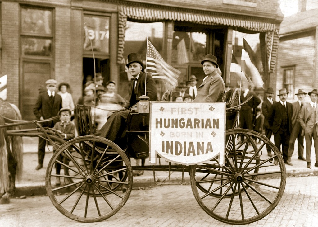first hungarian born in indiana
