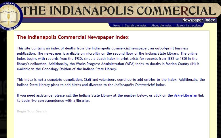 Indpls Commercial screen shot
