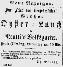 Taglicher Telegraph January 1 1867 (1)