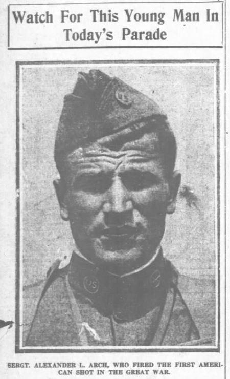 Alexander Arch September 17 1919