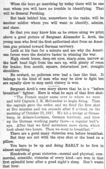 Alexander Arch Washington Times September 17 1919 (3)