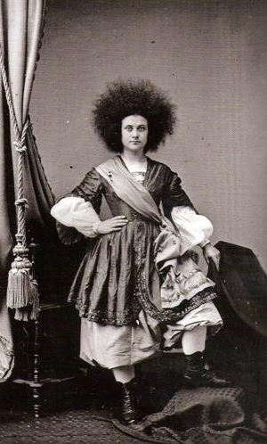 Circassian Girl - Matthew Brady New York 1861