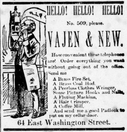 Indianapolis Journal October 9 1884