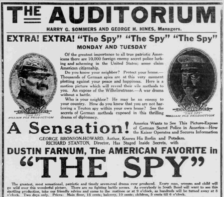 SB News Times Sept 9 1917