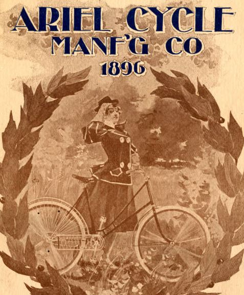 ariel cycling manufacturing co 1896