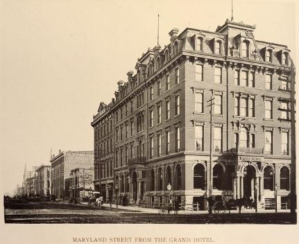 grand hotel indianapolis 1889