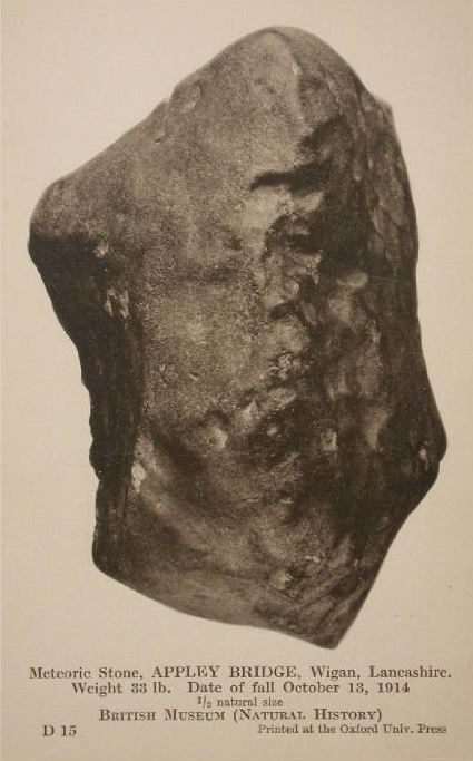 meteorite lancashire