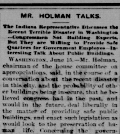 mr holman talks - jasper weekly courier june 1893