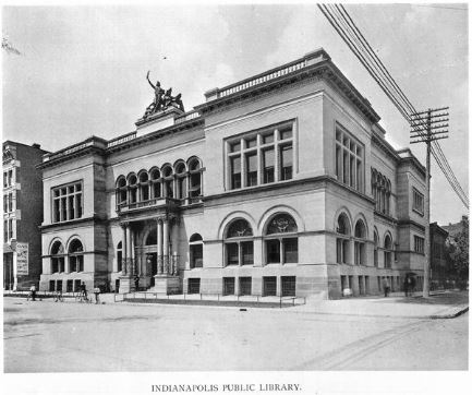 old indianapolis public library 1896