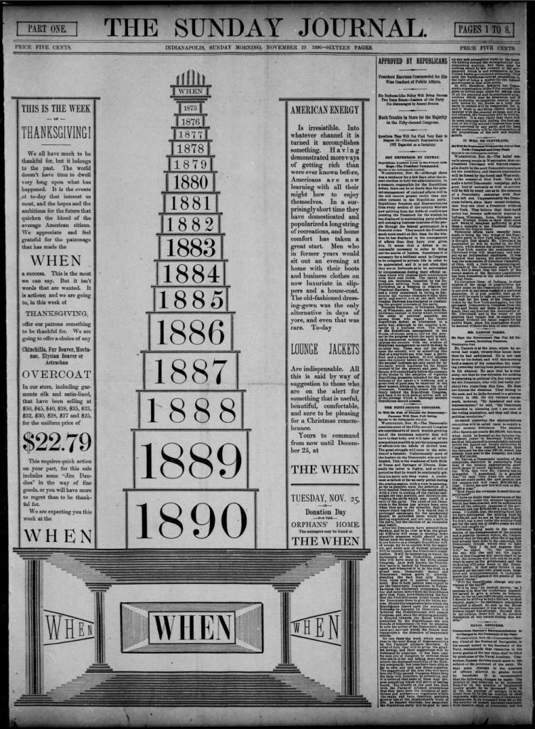 the when November 23 1890