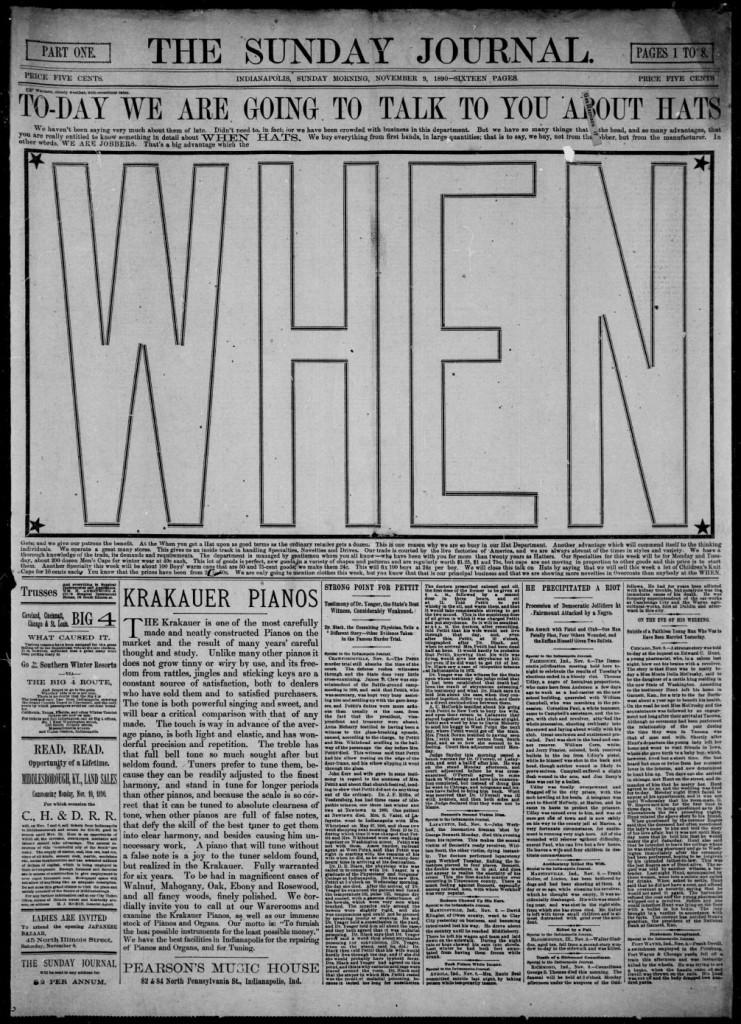 the when November 9 1890