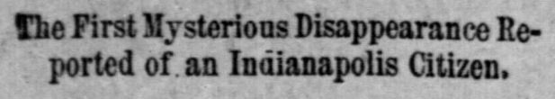 Indianapolis Journal January 5 1890
