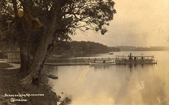 Scene on Lake Maxinkuckee