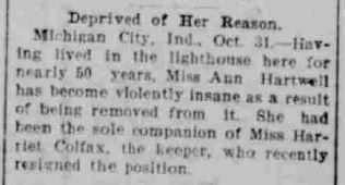 Ann Hartwell - Jasper Weekly Courier, November 4 1904
