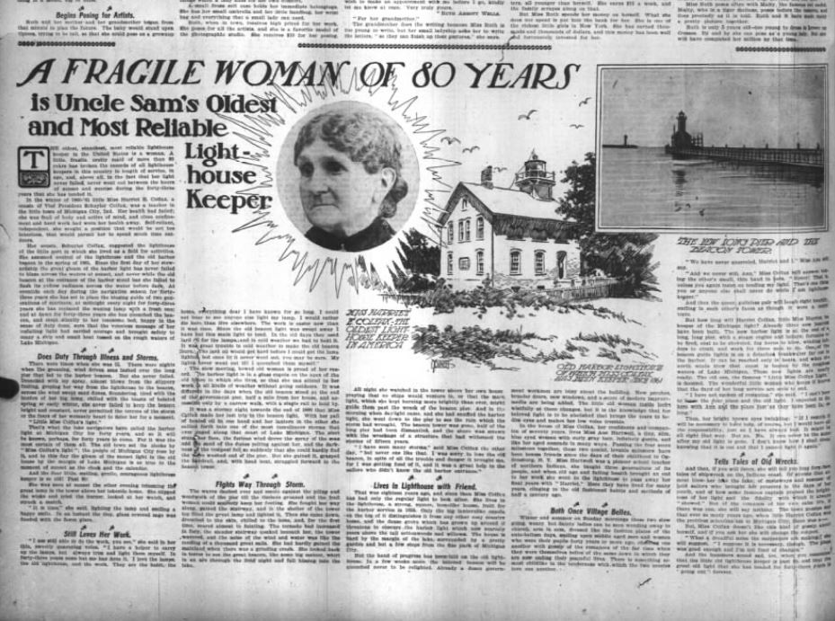 Harriet A Colfax - Chicago Daily Tribune October 2 1904