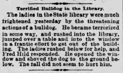 Indianapolis Journal April 12 1892