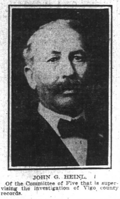 John G. Heinl - Indianapolis News February 2 1906