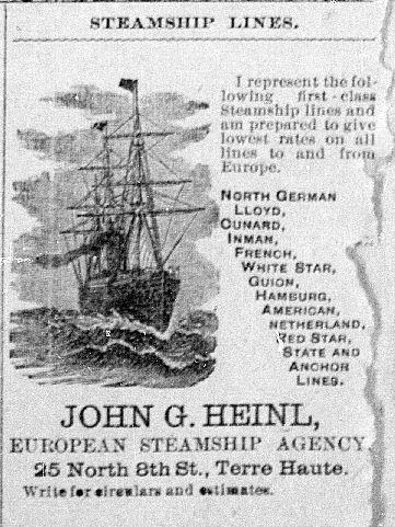 John G. Heinl -- Terre Haute Daily News 11-30-1889