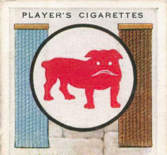 Players Cigarettes Bulldog 2