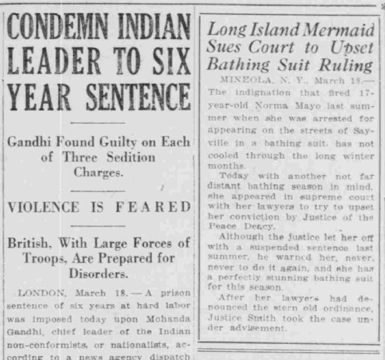 SB News Times - March 19, 1922