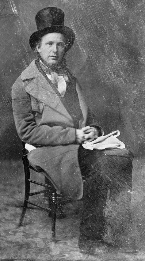Horace Greeley -- Matthew Brady circa 1860