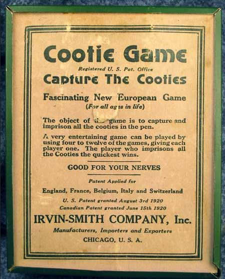 Cooties Game, 1920 -- Anglo Boer War Museum