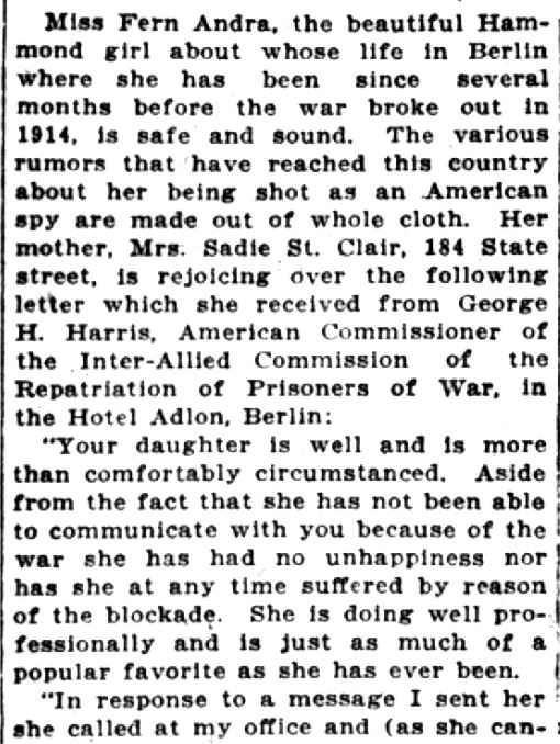 Fern Andra -- LC Times, May 3, 1919 (2)