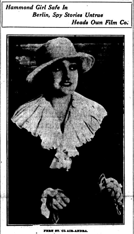 Fern Andra -- LC Times, May 3, 1919