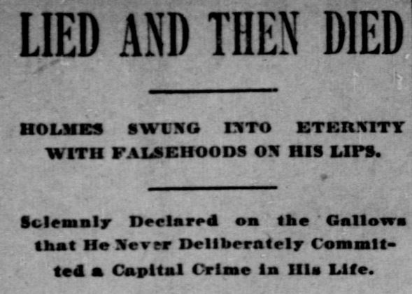 Holmes - Indianapolis Journal, May 8, 1896