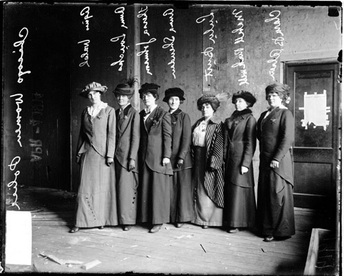 Chicago Policewomen, March 1914