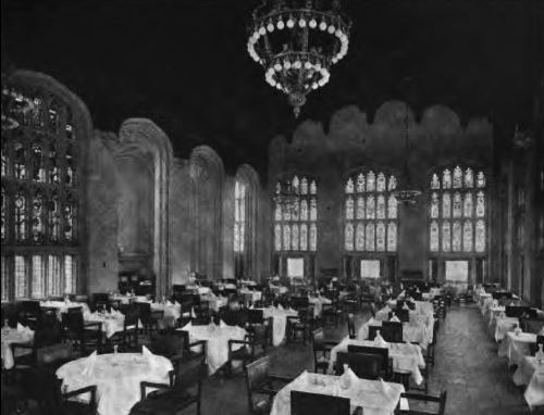 Dining Room, University Club of Chicago, 1909