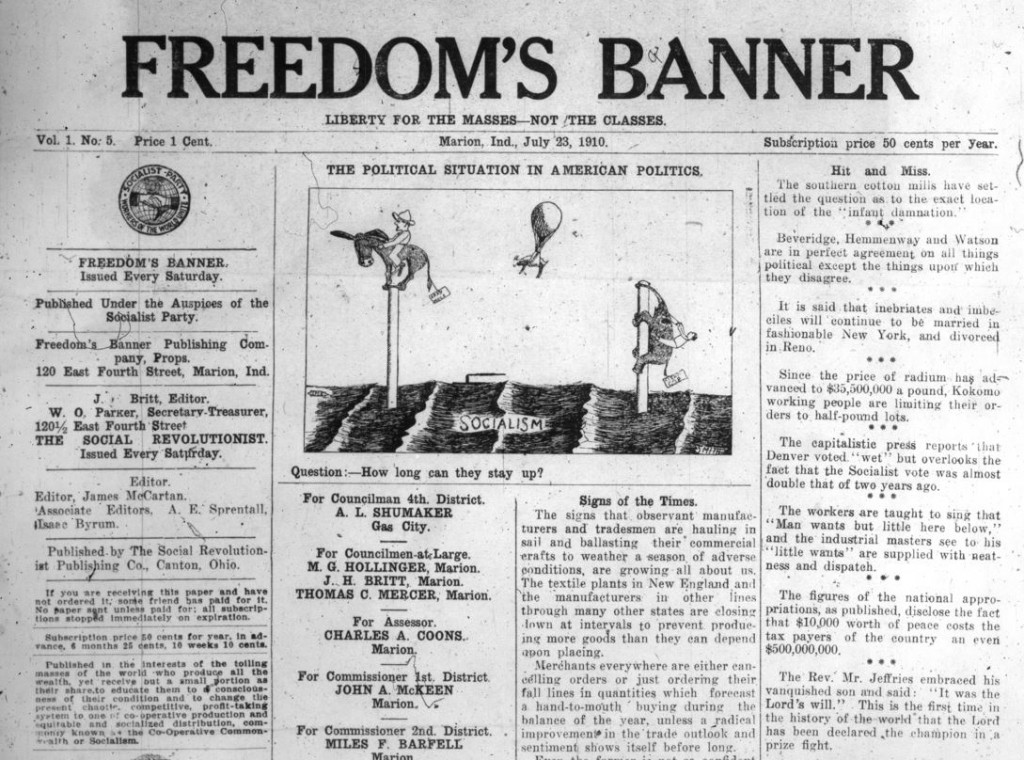 Freedom's Banner, Marion, Ind., July 23, 1910