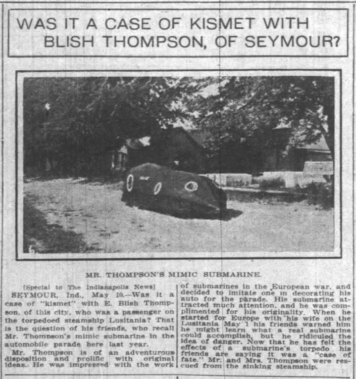 Indianapolis News, May 10, 1915