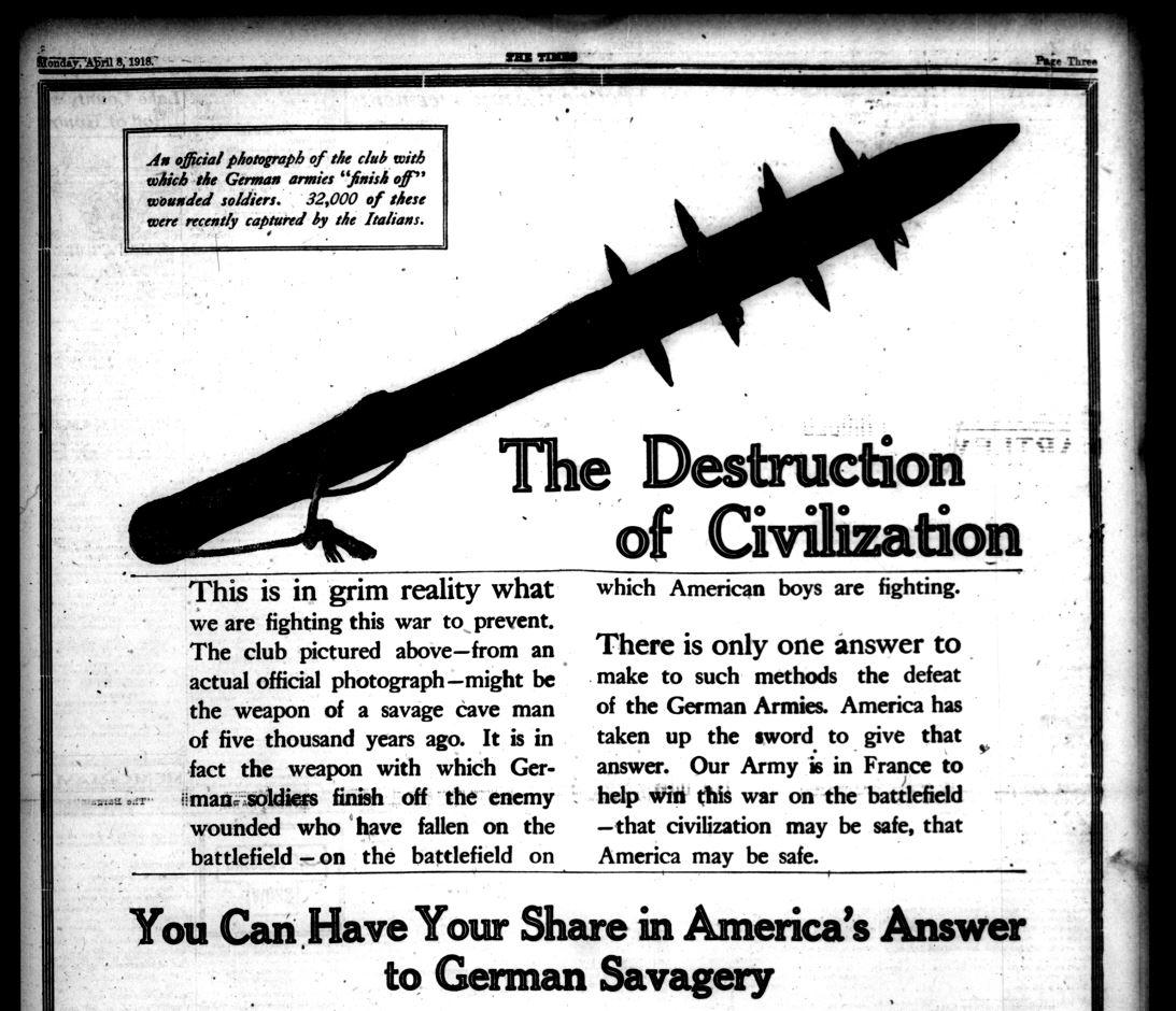 Lake County Times, April 8, 1918 (1)