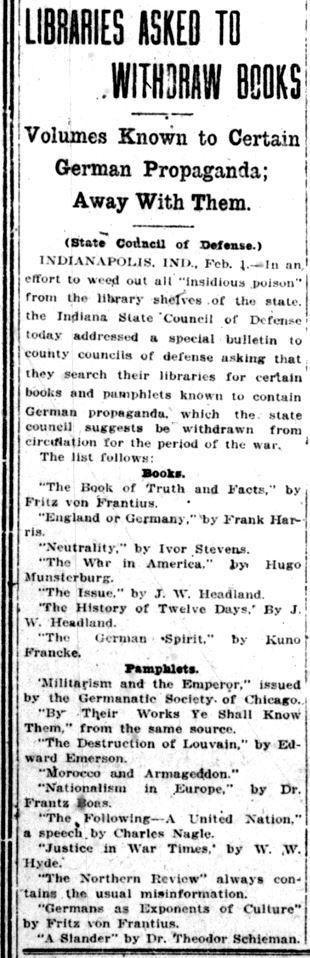 Lake County Times, February 1, 1918