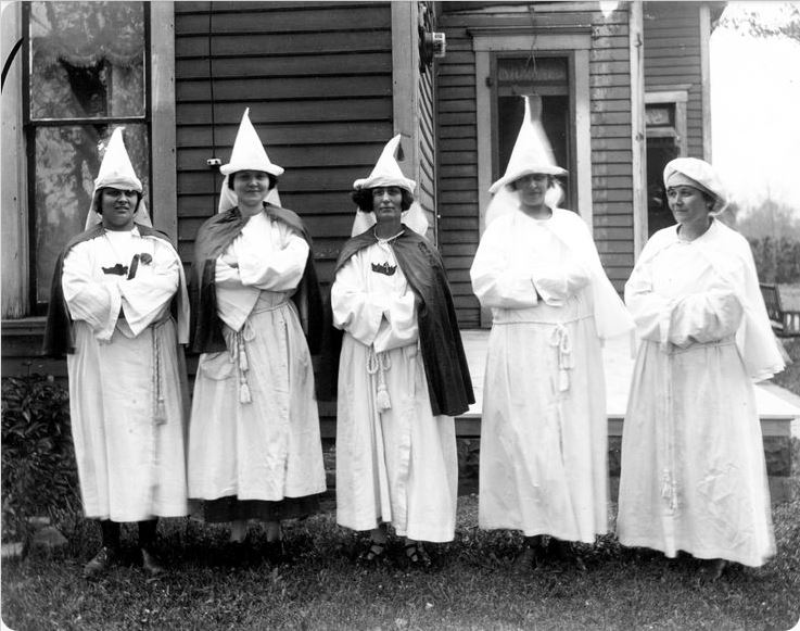 Women of the Klan, Muncie, Indiana, 1924