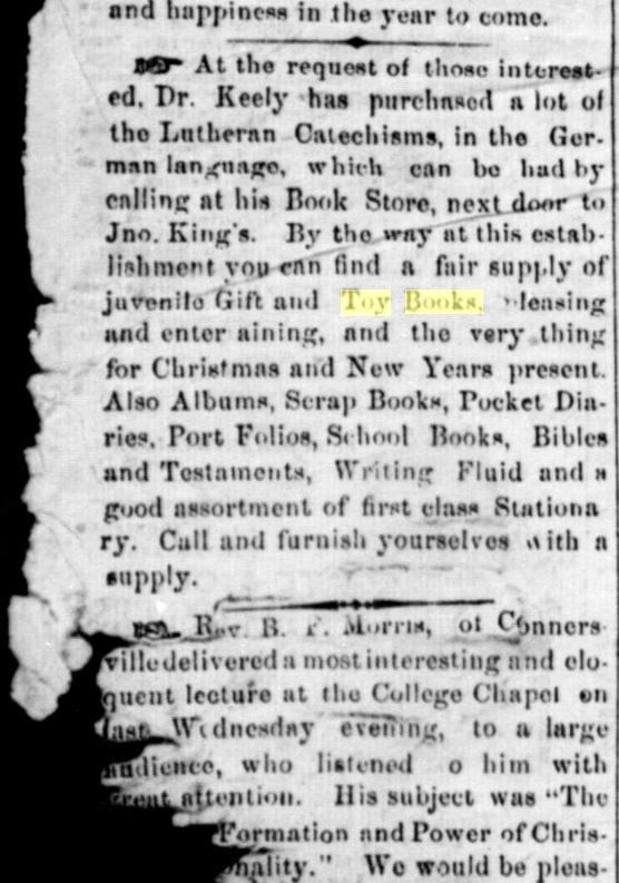 Brookville American, December 24, 1858