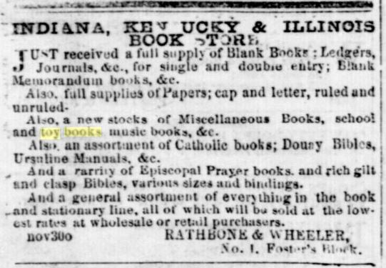 Evansville Daily Journal, December 18, 1852