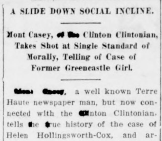 Greencastle Herald, July 28, 1913