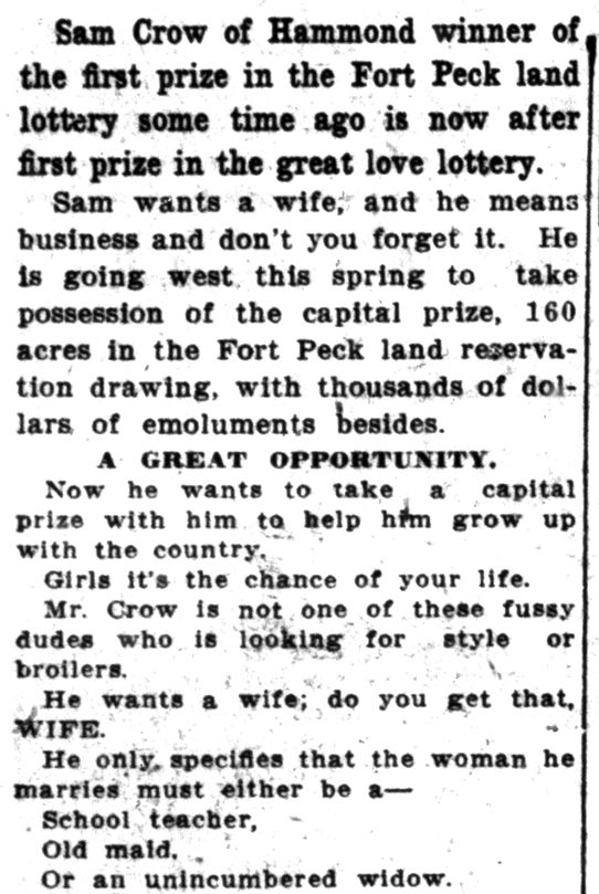 Lake County Times, March 6, 1914 (3)