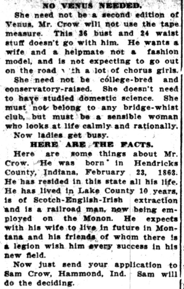 Lake County Times, March 6, 1914 (5)