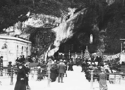 Lourdes grotto