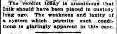 Mike Inik -- Lake County Times, December 5, 1916 (14)