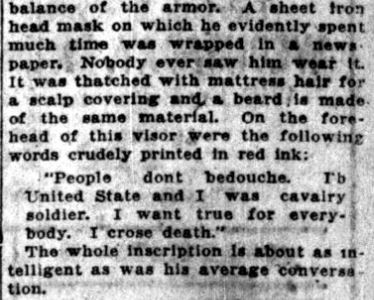 Mike Inik -- Lake County Times, December 5, 1916 (6 crop)